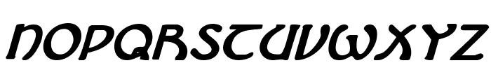 Brin Athyn Bold Italic Font LOWERCASE