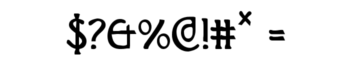 Brin Athyn Condensed Font OTHER CHARS