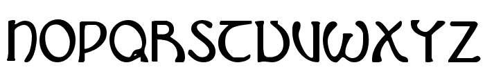 Brin Athyn Condensed Font UPPERCASE