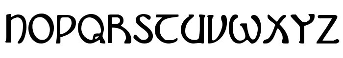 Brin Athyn Condensed Font LOWERCASE