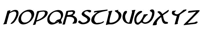 Brin Athyn Rotalic Font UPPERCASE