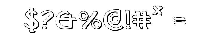 Brin Athyn Shadow Font OTHER CHARS