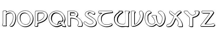 Brin Athyn Shadow Font LOWERCASE