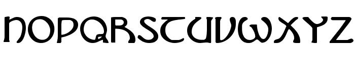 Brin Athyn Font LOWERCASE