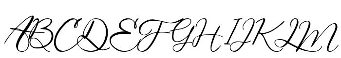 Bring Heart Font UPPERCASE