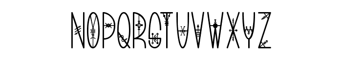 Bring me That Glyph 2 Font UPPERCASE