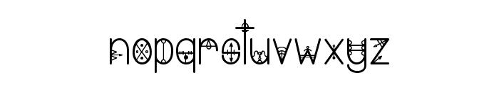 Bring me That Glyph 2 Font LOWERCASE