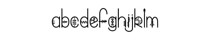 Bring me That Glyph Font LOWERCASE