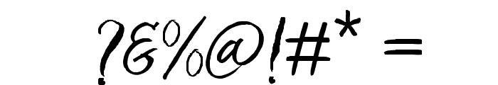Bringshoot Font OTHER CHARS