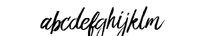 Bringshoot Font LOWERCASE