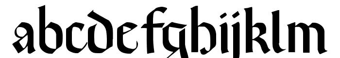 Brinkmann AH Font LOWERCASE