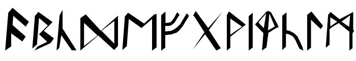 Britannian Runes Font LOWERCASE