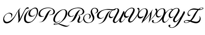 Brithney Font UPPERCASE