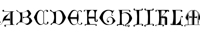 British Museum, 14th c. Font LOWERCASE