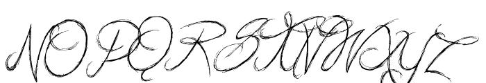 British Quest Font UPPERCASE