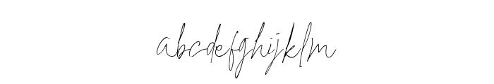 Britson Regular Font LOWERCASE