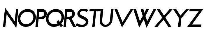 Brixton Bold Oblique Font UPPERCASE