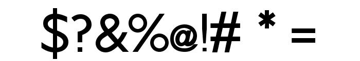 Brixton Medium Font OTHER CHARS