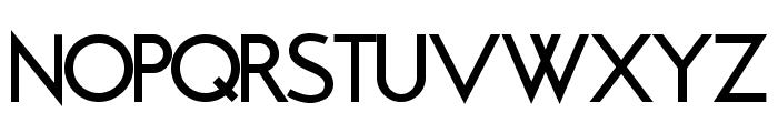 Brixton Medium Font UPPERCASE