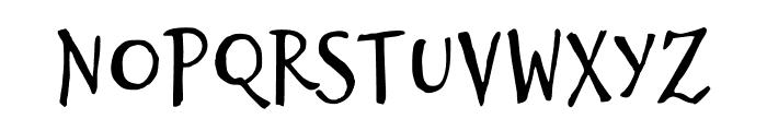 Brizel Font LOWERCASE