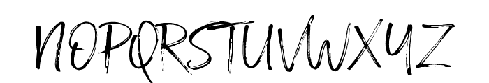 Broadcast Matter Font UPPERCASE