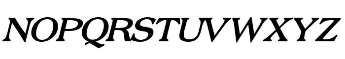Broadsheet LDO Bold Italic Font UPPERCASE