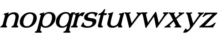 Broadsheet LDO Bold Italic Font LOWERCASE