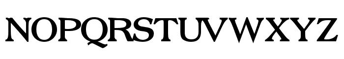 Broadsheet LDO Bold Font UPPERCASE