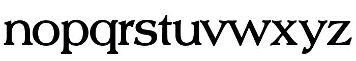 Broadsheet LDO Bold Font LOWERCASE