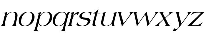 Broadsheet LDO Italic Font LOWERCASE