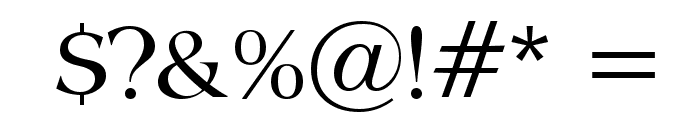 Broadsheet LDO Font OTHER CHARS