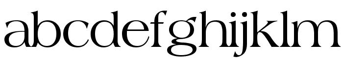 Broadsheet LDO Font LOWERCASE
