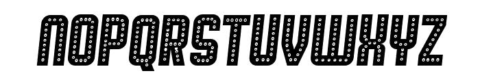 Broadway Italic Font UPPERCASE