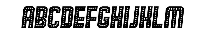 Broadway Italic Font LOWERCASE