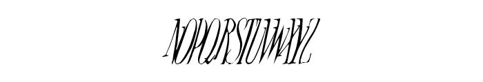 Broadway Monograms Plain Font LOWERCASE
