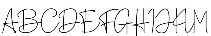 Broetown Signature Font UPPERCASE