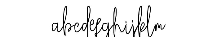 Broetown Signature Font LOWERCASE