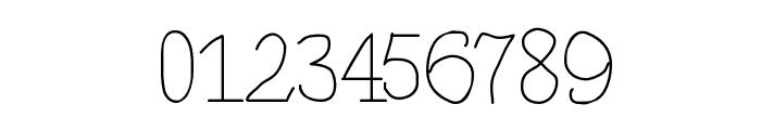 BrokenHandLight Font OTHER CHARS