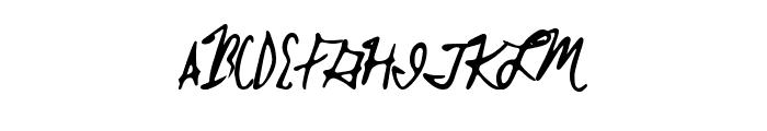 BrokenMustangs Font UPPERCASE