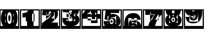 BrokenSansCaps Font OTHER CHARS