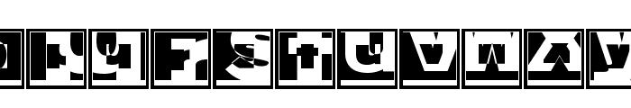 BrokenSansCaps Font UPPERCASE