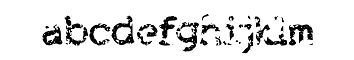 Brokenbaby Font LOWERCASE