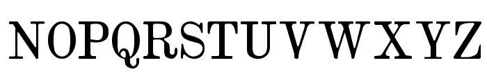 Brokgauz & Efron Font UPPERCASE