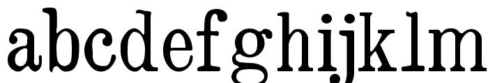 Brokgauz & Efron Font LOWERCASE