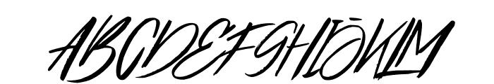 Broklight Font UPPERCASE