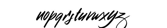 Broklight Font LOWERCASE