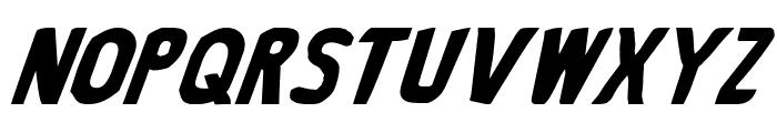 Bronic Italic Font UPPERCASE