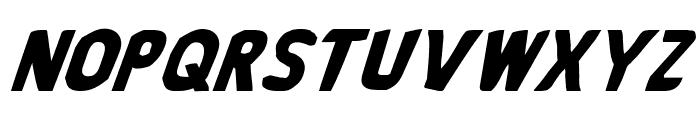 Bronic Italic Font LOWERCASE