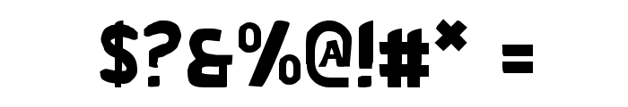 Bronic Font OTHER CHARS