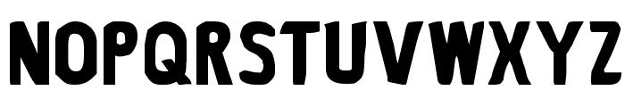 Bronic Font UPPERCASE